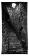 Old Steps In Chester England Bath Towel