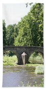 Old Stone Arch Bridge Bath Towel