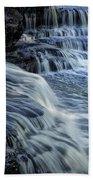 Old Stone Fort Waterfall Bath Towel