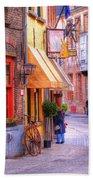 Old Town Bruges Belgium Bath Towel