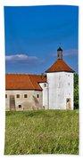 Old Town Fortress In Durdevac Croatia Bath Towel