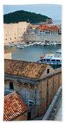 Old Town Of Dubrovnik Bath Towel