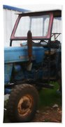 Old Tractor I Bath Towel
