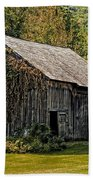 Old Vermont Barn Bath Towel