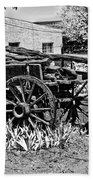 Old Wagon And Cooler Hand Towel