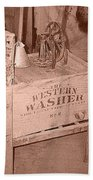 Old Washer Bath Towel