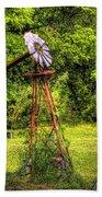 Old Windmill Bath Towel