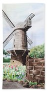 Old Windmill Bath Towel