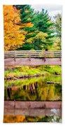 Ole Bull State Park Paint Bath Towel