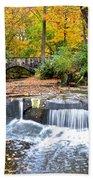 Olmstead Falls Ohio Bath Towel