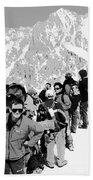 On Mount Blanc Bath Towel