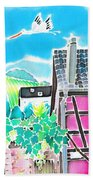 On The Alsace Wine Route Hand Towel