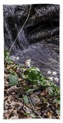 On The Banks Of The Rapids Bath Towel