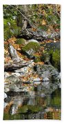 On The Edge Of The Lake Hand Towel
