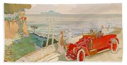 On The Road To Naples Bath Towel