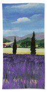On The Way To Roussillon Hand Towel