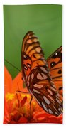 On The Wings Of A Butterfly Bath Towel