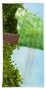 On This Spinning Earth  Bath Towel