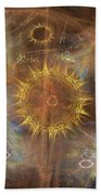 One Ring To Rule Them All - Square Version Bath Towel