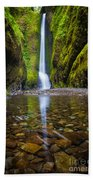 Oneonta Falls Bath Towel