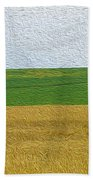 Ontario Farm In Landscape Mode Bath Towel