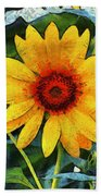 Onyx Store Sunflower Bath Towel