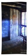 Open Cabin Door With Orbs Bath Towel
