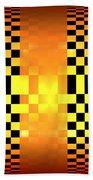 Optical Illusion Bath Towel