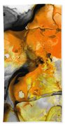 Orange Abstract Art - Light Walk - By Sharon Cummings Hand Towel