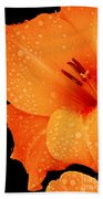 Orange Blossom Special Bath Towel