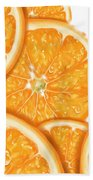Orange Bath Towel
