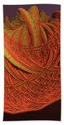 Orange Weave Bath Towel