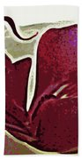 Orchid Facing Up Hand Towel