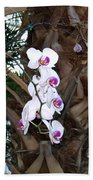 Orchids In The Opryland Hotel In Nashville Tennessee Bath Towel