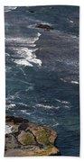 Oregon Coast And Shoreline Bath Towel