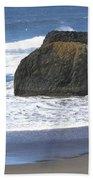 Oregon Coast Panorama Bath Towel