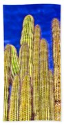 Organ Pipe Cactus Arizona By Diana Sainz Bath Towel