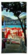 Orient Beach Peek Hand Towel