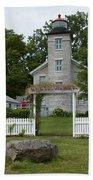 Original Lighthouse Site Bath Towel