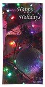 Ornaments-2136-happyholidays Bath Towel