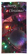 Ornaments-2143-merrychristmas Bath Towel