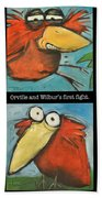 Orville And Wilburs First Flight Bath Towel
