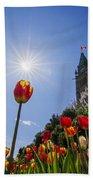 Ottawa Tulip Festival Bath Towel