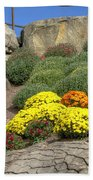 Ott's Greenhouse - Chrysanthemum Hill - Schwenksville - Pa Bath Towel