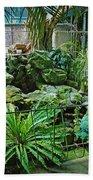 Ott's Greenhouse - Schwenksville - Pennsylvania - Usa Bath Towel