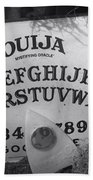 Ouija Board Queen Mary Ocean Liner Bw Bath Towel