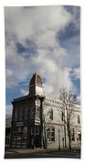 Our Town - Grants Pass In Old Town Bath Towel