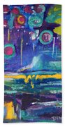 Out In The Universe Bath Towel