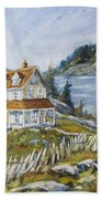 Out To Sea By Prankearts Bath Towel