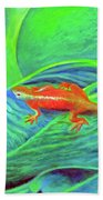 Outer Banks Gecko Bath Towel
